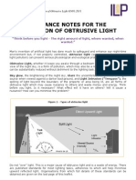 ILE Guide Notes Light Pollution 2011