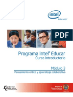 Intel Educar Modulo3