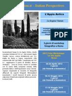 Fotografia e Turismo Via Appia Antica Roma