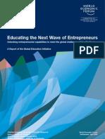 Entrepreneurship Education Report