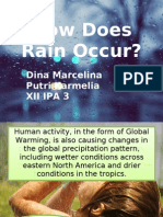 How Does Rain Occur