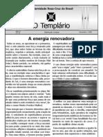 Jornal o Templario Ano3 n19 Nov 2008