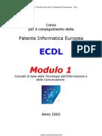 [ECDL] Modulo 1_Tutto