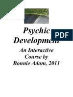 Psychic Development Manual