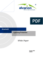 Alvarion Lightning Protection White Paper 051009 R45