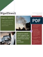 NipeUkweli Dangerous Speech Fliers (English and Swahili)