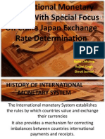History of International Monetory System