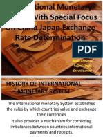 History of International Monetory System