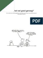 Scriptie - Ruikt Het Wel Goed Genoeg.doc