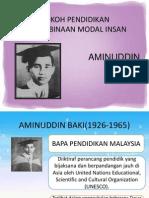 Peranan Tokoh Pendidikan Dalam Pembinaan Modal Insan