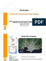 Presentation of Montevideo's Territorial Climate Change Strategy