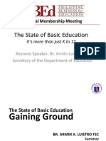 State of Education 2012
