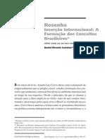 Resenha de Pol Int a Formacao Dos Conceitos Br de AMADO CERVO