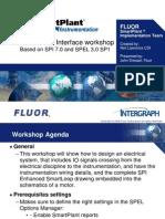 SmartPlant Electrical SPI SPEL Workshop