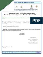 HG 1546_2003 Pt Aprobarea Normelor de Conservare Si Restaurare a Bunurilor Culturale Mobile Clasate