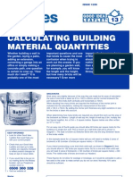 Calculating Building Materials