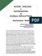 27211832 Guillem Feixas Amp Luis Angel Saul Gutierrez Dilemas en Terapia Sistemica Tecnicas