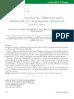 Factores Socioeconomicos y Dieteticos Asociados a La Deficiencias de Hierro en Preescolares y Escolares de Arandas, Jalisco