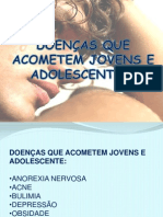 DOENÇA QUE ACOMETEM JOVES E ADOLESCENTES WANDERSOM