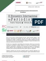 18-02-13 Boletin 1362 Respalda Gobierno de la Gente Encuentro Internacional de Periodistas
