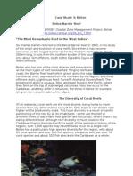 Additional Reading on Belizean Barrier Reefs