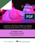 Travel Manitoba Cutting Edge 2012 Worksheet Excepts