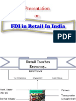 fdi in retail in india