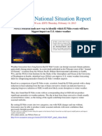 National Situation Report