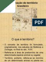 A Formacao Do Territorio Brasileiro