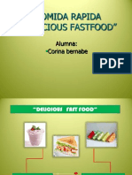 Ppt Delicious Fast Food Para Exposicion