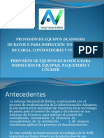 Scanners Bolivia
