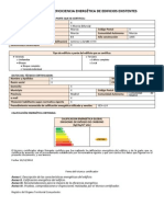 Ejemplo de Certificado Energetico Con Ce3x
