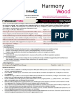 Harmony Wood_PM_Systems Analyst Resume