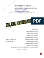 Etica y Deontologia Medica