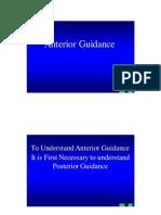 Anterior Guidance