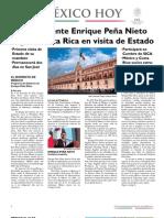 """Boletín Informativo """"México Hoy"""", edición especial"""