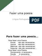 Fazer Um a Poesia