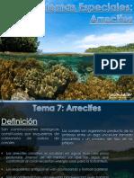 Tema 6 - Ecosistemas Especiales (Arrecifes)