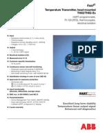 PT-100 RTD 4 Wire Sensor Rosemount