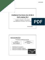 Analgesicos e Antiinflamatorios 2011