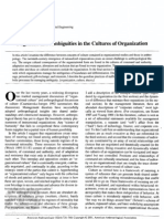Negations and Ambiguities in the Cultures of Organizations Batteau