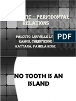 Endodontic – Periodontal Relations