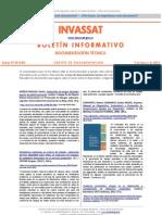 INVASSAT Boletín DT 2013-04