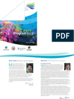 International Coral Reef symposium-  Program Book