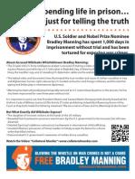 Bradley Manning Color Flyer