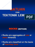 1. Batuan Dan Tektonik Lempeng