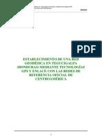 Estableciendo Una Red Geodesica en Honduras