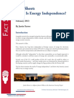 What is Energy Independence?