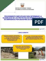 PIP DE EMERGENCIA_PRESENTACIÓN