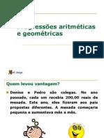 1 ANO - Progressões - 2007